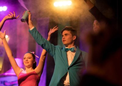 Image by Coomera Anglican College - Theatre production of 'Hairspray' the musical using Atmosphere Aerosol